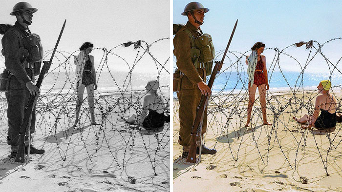 Artist Colorizes 30 Old Photos, And It Might Change The Way You Perceive History