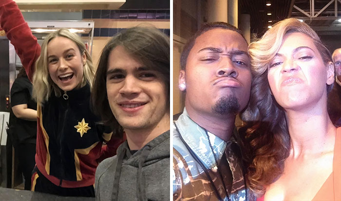 46 People Share Pics Of How They Met Celebrities Just Living Their Ordinary Lives