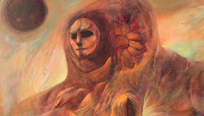 Burt Shonberg, An Artist Whose Paintings Were In Roger Corman's Films And Who Participated In 1960s LSD Experiments Has His First Showing In 50 Years At Buckland Museum Of Witchcraft And Magick
