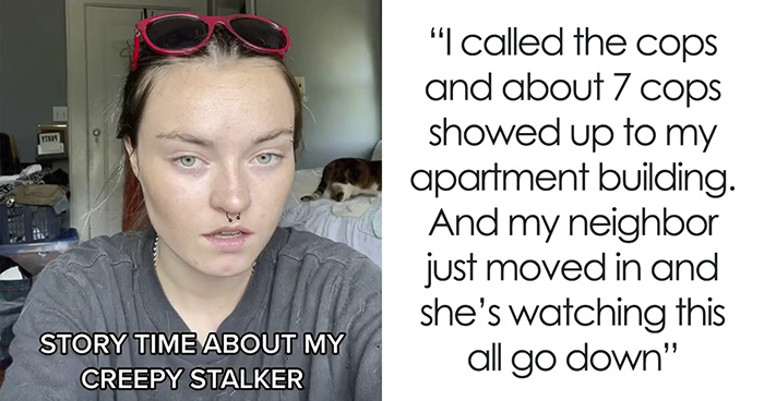 21 Y.O. Reveals How She Caught Her 73 Y.O. Stalker Neighbor, Shares Details Of The Story In Her Viral TikTok Video