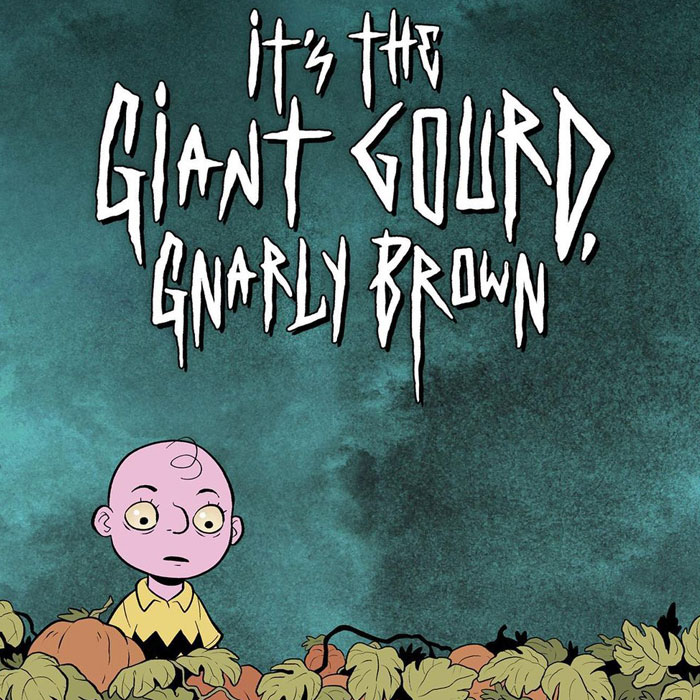 This Artist Made A Dark Webcomic About 'Gnarly Brown', And People On Instagram Are Loving It