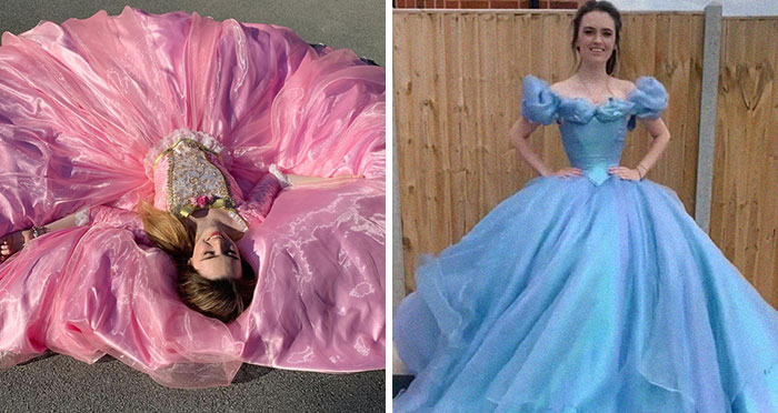 Artist Recreates Disney, Barbie And Other Dresses, And She's Becoming An Internet Hit (20 Pics)