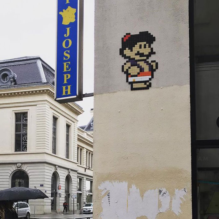 I'm A Street Artist And I Make Mario Mosaics Where He Cosplays As Different Characters (30 Pics)