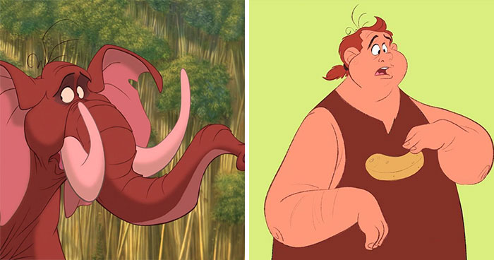 Disney Cast 'Humanimalized': 30 Animal Characters Turned Into Humans (New Pics)