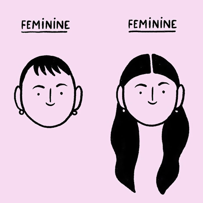 French Artist Creates Illustrations That Challenge Society's Standards For Women (30 New Pics)